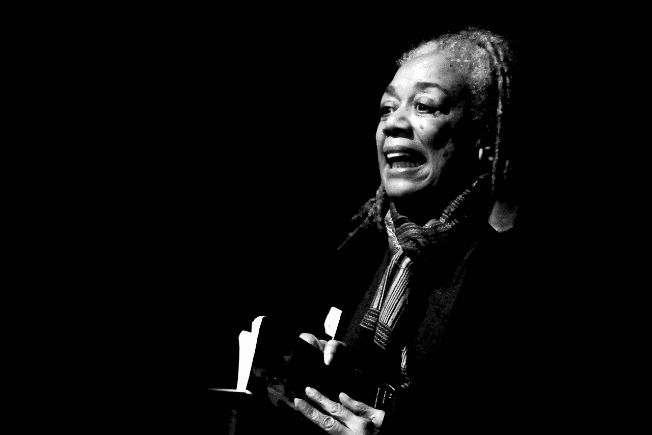 "Jean ""Binta"" Breeze MBE is a Jamaican dub poet and storyteller."